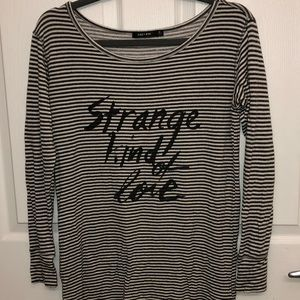 Obey Striped Long-Sleeve top